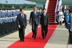 Presidente Barack Obama de los E.E.U.U. Imagen de archivo libre de regalías