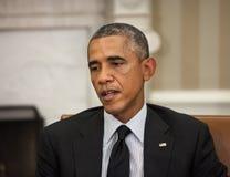Presidente Barack Obama degli Stati Uniti Immagini Stock Libere da Diritti