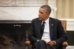 Presidente Barack Obama degli Stati Uniti Immagini Stock
