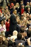 Presidente Barack Obama a Denver Fotografia Stock Libera da Diritti