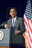 Presidente Barack Obama en Arizona Foto de archivo libre de regalías