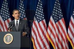 Presidente Barack Obama en Arizona Foto de archivo