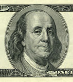 Presidente Benjamin Franklin Fotos de archivo libres de regalías