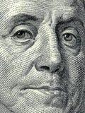 Presidente Benjamin Franklin Imagem de Stock Royalty Free