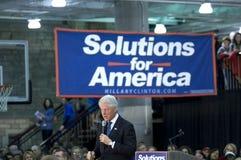 Presidente Bill Clinton imagem de stock royalty free