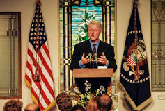 Presidente Bill Clinton foto de stock royalty free