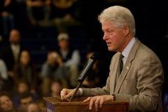 Presidente Bill Clinton Fotografie Stock Libere da Diritti