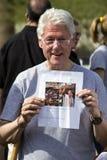 Presidente Bill Clinton degli Stati Uniti Fotografie Stock Libere da Diritti