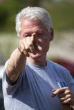 Presidente Bill Clinton degli Stati Uniti Fotografia Stock Libera da Diritti