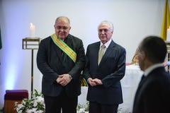 Presidente brasileiro Michael Temer fotografia de stock royalty free