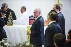 Presidente brasileiro Michael Temer fotos de stock royalty free