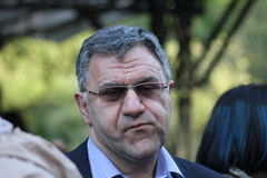 Presidente da empresa Amedia Alexander Akopov do filme Foto de Stock