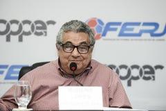 Presidente da federação carioca de futebol (FERJ), Rubens Lopes. Rio, Brazil - december 12, 2018: President of the Rio de Janeiro Football Federation (FERJ stock photos