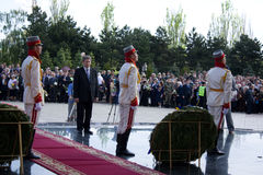 Presidente da república de Moldova Mihai Ghimpu Fotografia de Stock