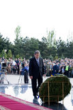 Presidente da república de Moldova Mihai Ghimpu Fotografia de Stock Royalty Free