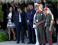 Presidente de Bolívia Evo Morales Fotos de Stock Royalty Free