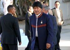 Presidente de Bolivia Evo Morales Fotografía de archivo libre de regalías