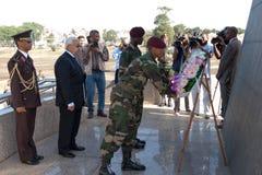 Presidente de Cabo Verde P.Pires Fotos de archivo libres de regalías