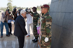 Presidente de Cabo Verde P.Pires Fotografía de archivo libre de regalías