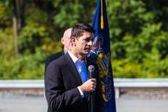 Presidente de la Cámara Paul Ryan de los E.E.U.U. Imagen de archivo