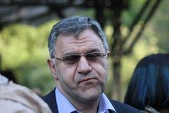 Presidente de la compañía Amedia Alexander Akopov de la película Foto de archivo