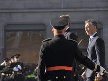 Presidente de la República Argentina Macri foto de archivo