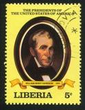 Presidente de los Estados Unidos Wm H harrison imagen de archivo