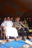 Presidente de Mohamed Abdelaziz de Western Sahara Fotos de Stock Royalty Free