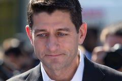 Presidente de Paul Ryan los E.E.U.U. Imagen de archivo libre de regalías