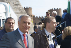 Presidente de Piero Marrazzo da região de Lazio Fotografia de Stock Royalty Free