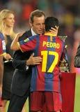 Presidente de Sandro Rosell de FC Barcelona fotografía de archivo