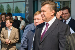 Presidente de Ucrânia Viktor Yanukovitch Fotografia de Stock Royalty Free