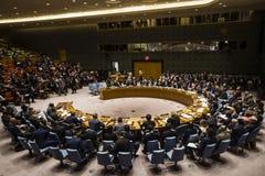 Presidente de Ucrania Petro Poroshenko en Asamblea General de la O.N.U fotografía de archivo libre de regalías
