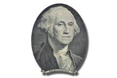 Presidente de Washington en uno dólar billete de banco Fotografía de archivo