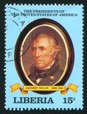 Presidente degli Stati Uniti Zachary Taylor Fotografia Stock