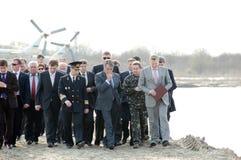 Presidente del vincitore Yushchenko dell'Ucraina Immagine Stock Libera da Diritti