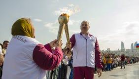 Presidente dell'Azerbaigian fotografia stock