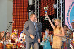 Presidente dell'Ucraina Leonid Kuchma fotografia stock libera da diritti