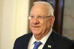 Presidente dello stato di Israel Reuven Rivlin Fotografia Stock Libera da Diritti