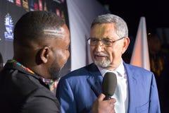 Presidente di Capo Verde Jorge Carlos Almeida Fonseca (destra) Fotografia Stock Libera da Diritti