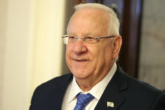 Presidente do estado de Israel Reuven Rivlin Foto de Stock Royalty Free