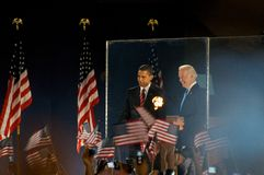 Presidente eletto Obama Fotografia Stock Libera da Diritti