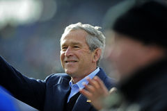 Presidente George Bush Imagens de Stock