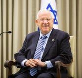 Presidente israelí Reuven Rivlin Fotos de archivo