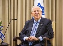 Presidente israelí Reuven Rivlin Foto de archivo libre de regalías