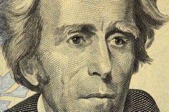 Presidente Jackson Foto de archivo libre de regalías