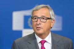 Presidente Jean-Claude Juncker de la Comisión Europea Foto de archivo