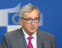 Presidente Jean-Claude Juncker de la Comisión Europea Imagenes de archivo