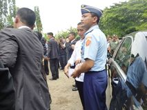 Presidente Jokowi Fotografie Stock Libere da Diritti