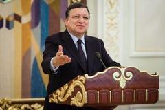 Presidente Jose Manuel Barroso da Comissão Europeia imagens de stock